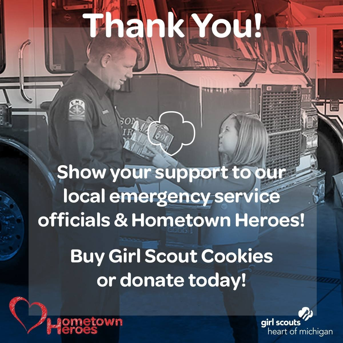 Thank You! Hometown Heroes