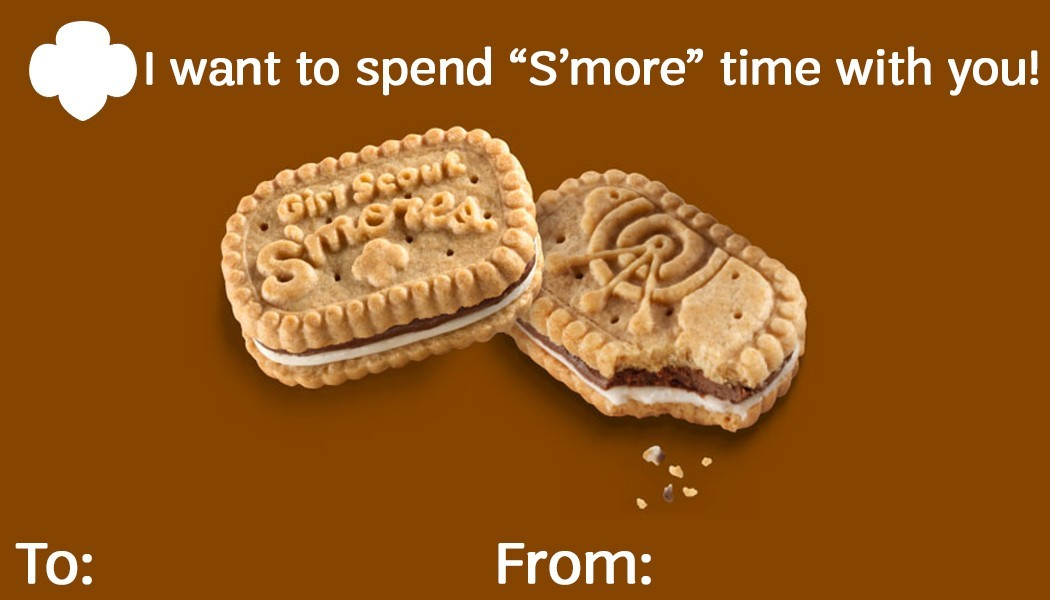 S'mores Card