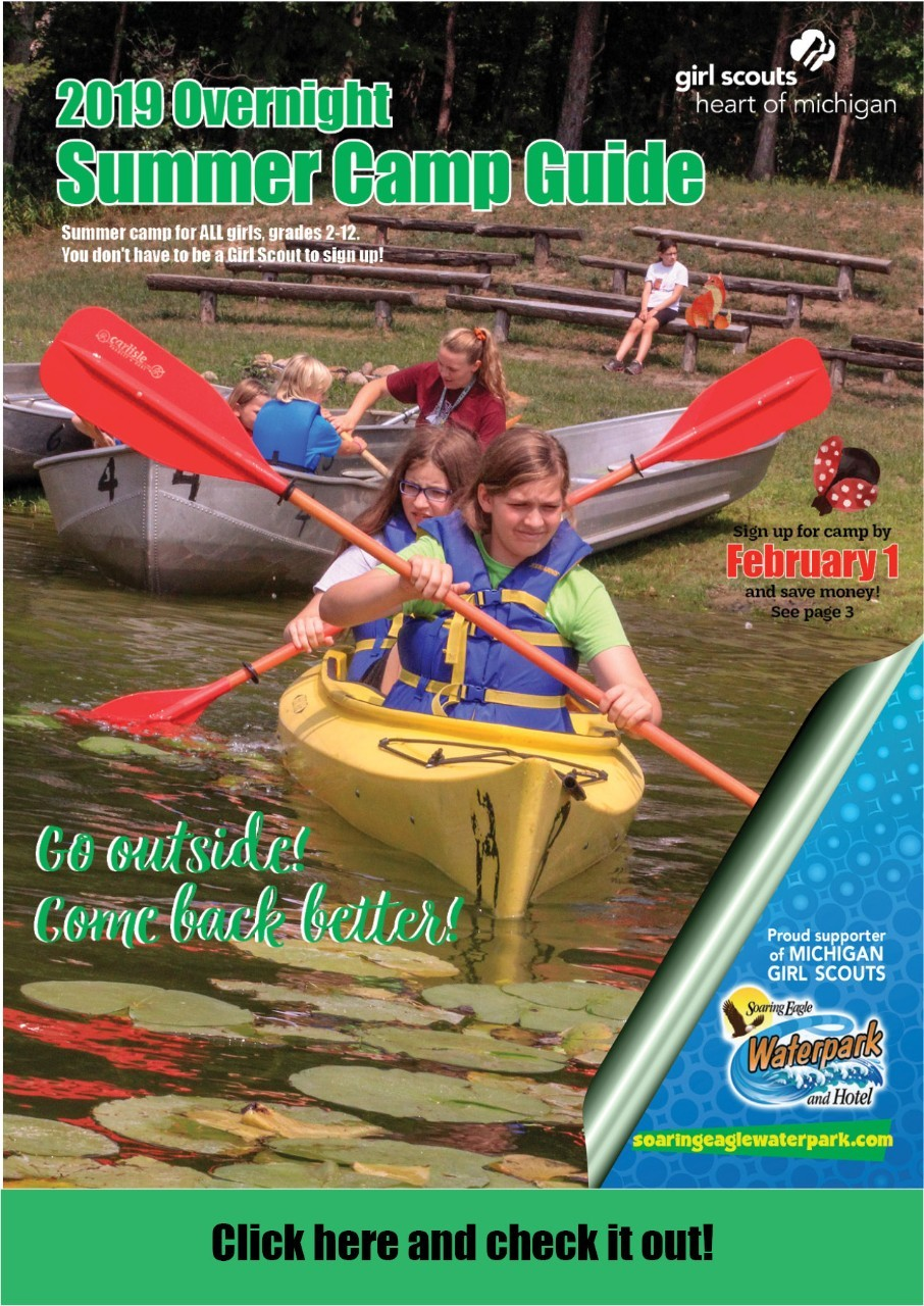 2019 Overnight Summer Camp Guide